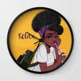 4c women Wall Clock