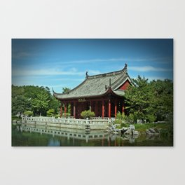 Pavilion Canvas Print