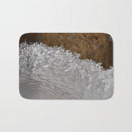 Frozen Wave - photograph by Teresa Thompson Bath Mat