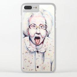 Edith Clear iPhone Case