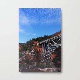 the crossing Metal Print