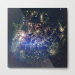 Large Magellanic Cloud, infrared 2 Metal Print