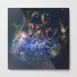 Large Magellanic Cloud, infrared 2 Metal Print