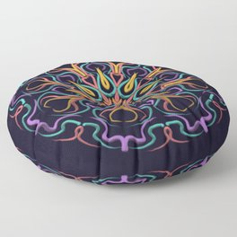 Indomitable Will Floor Pillow