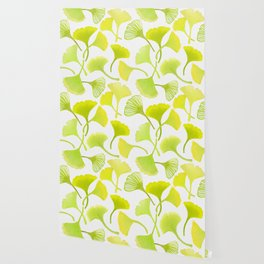 First Day of Autumn Ginkgo Leaves Wallpaper