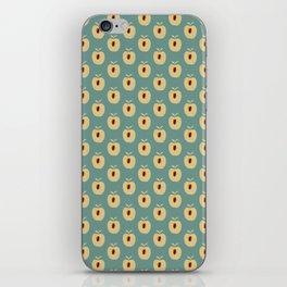 Quadrille 2 (Duck Egg Blue) iPhone Skin
