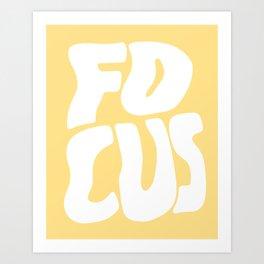 Focus Wave Art Print