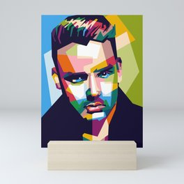 Liam in POP ART Mini Art Print