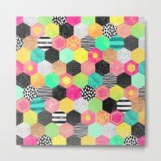 Color Hive Metal Print