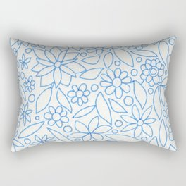 Flower Bonanza Rectangular Pillow
