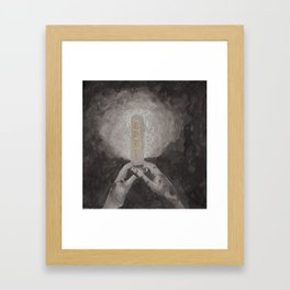 The light within 1 Framed Art Print