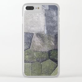 An imperial wall Clear iPhone Case