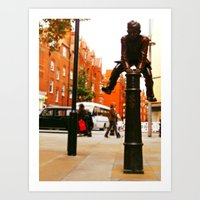 The Jumper Art Print
