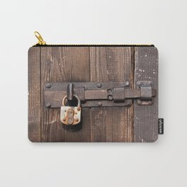 Locked - verschlossen Carry-All Pouch