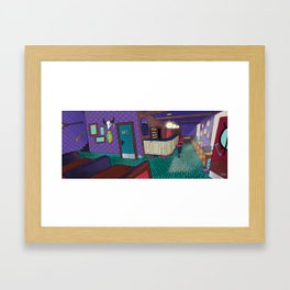 Magic Cafe Framed Art Print