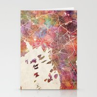 oslo Stationery Cards featuring Oslo by MapMapMaps.Watercolors