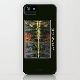 Inspirational Change iPhone Case