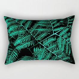 Mint Bracken Rectangular Pillow