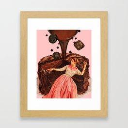 Chocolate Dreams Framed Art Print