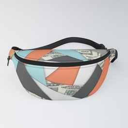 Layered Money Fanny Pack