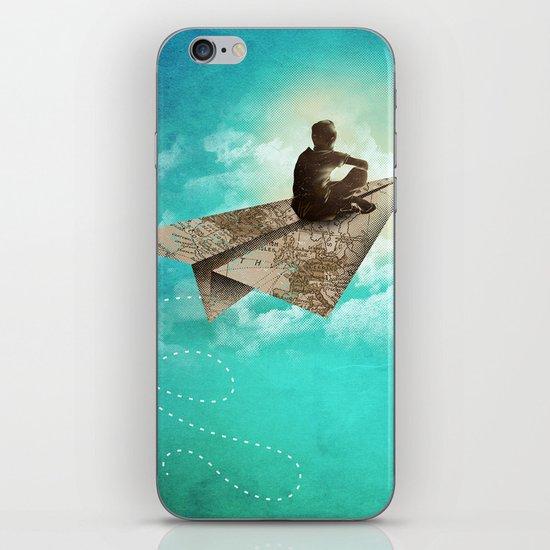 Paper Aeroplane iPhone Skin
