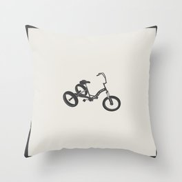 tricycle 02 Throw Pillow