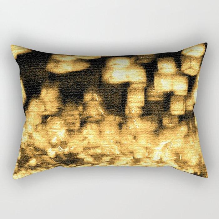 Countless lights Rectangular Pillow