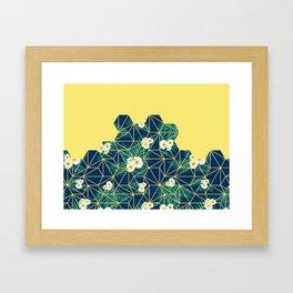 Tropical Tiles #society6 #decor #buyart Framed Art Print