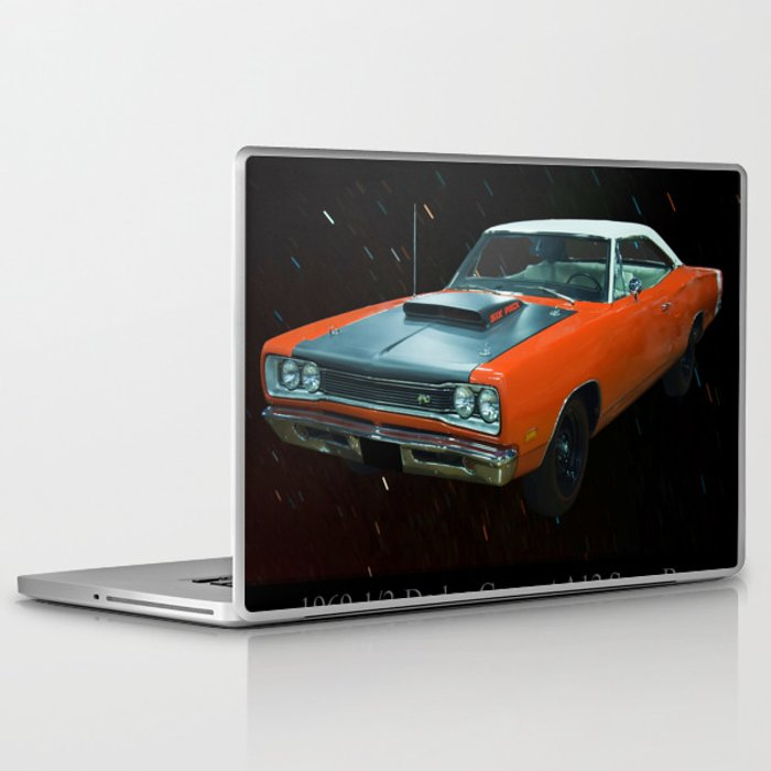 1969 1/2 Dodge Cornet A12 Superbee Laptop & iPad Skin by chrisflees