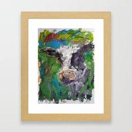 Cow Boe 1 Framed Art Print