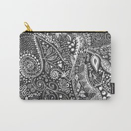 Aztec B&W (Handmade) Carry-All Pouch