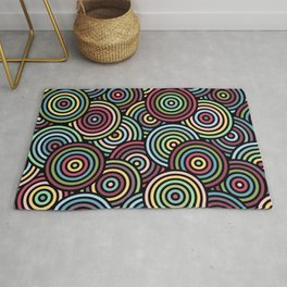 Colourful Circles 2 Rug