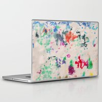 monet Laptop & iPad Skins featuring Monet Day by Ryan van Gogh