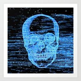 tv horror Art Print