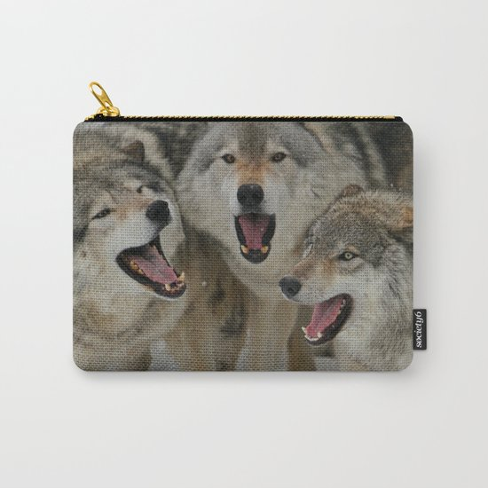 Watching Youtube Carry-All Pouch