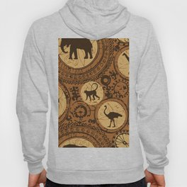 African Tribal Pattern No. 5 Hoody