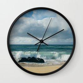 Hookipa Beach Pacific Ocean Waves Maui Hawaii Wall Clock