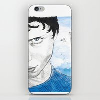 engineer iPhone & iPod Skins featuring The Dreaming Engineer Ia by Vivian TAN Ai Hua