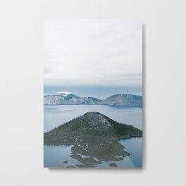 Crater Lake, Oregon Metal Print