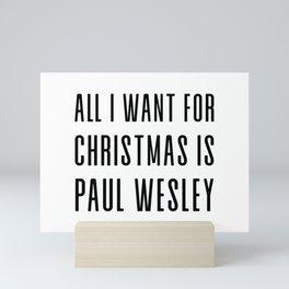 All I want for Christmas Mini Art Print