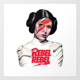 Princess Rebel Art Print