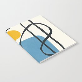 Abstract Line IV Notebook