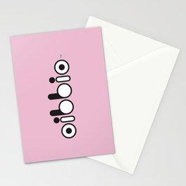 Oibbio Logo (Pink) Stationery Cards
