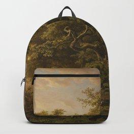 Barend Cornelis Koekkoek - Forest Scene Backpack