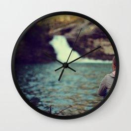 Lula Lake Contemplation Wall Clock