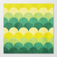 scales Canvas Prints featuring Scales by Arcturus