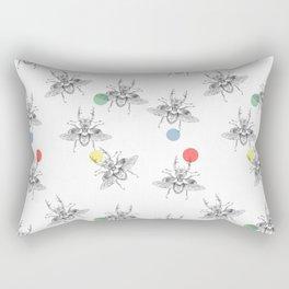 Lucanidae metamorphosis Rectangular Pillow