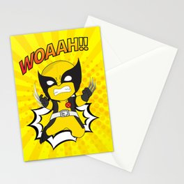 The Angry Men Stationery Cards