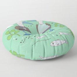 A Couple of Boobies Floor Pillow