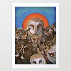 All the Crooked Saints Art Print